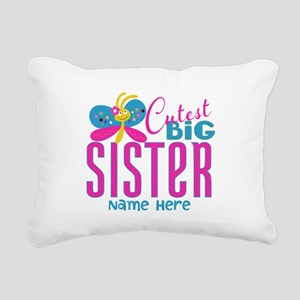 Personalized Big Sister Rectangular Canvas Pillow