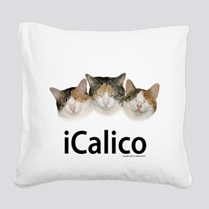iCalico Square Canvas Pillow