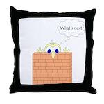 Wallman what's next  Throw Pillow