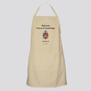 Welcome Prince of Cambridge Apron