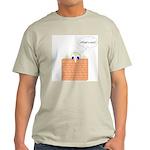 Wallman what's next Ash Grey T-Shirt