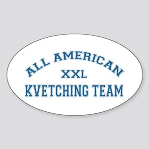 AA Kvetching Team Oval Sticker