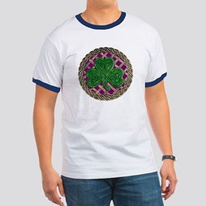Shamrock And Celtic Knots T-Shirt