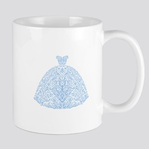 Wedding Dress Blue Mug