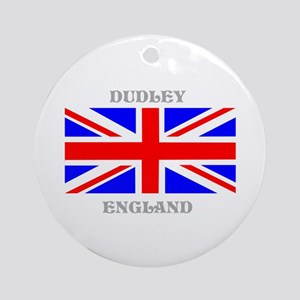 Dudley England Ornament (Round)