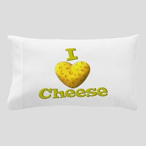 funny cute i heart love cheese cheesey heart Pillo