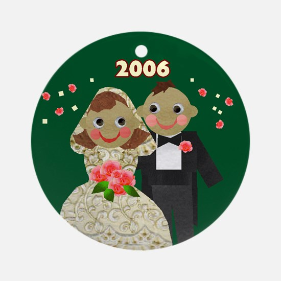 Our First Christmas Wedding Ornament 2006