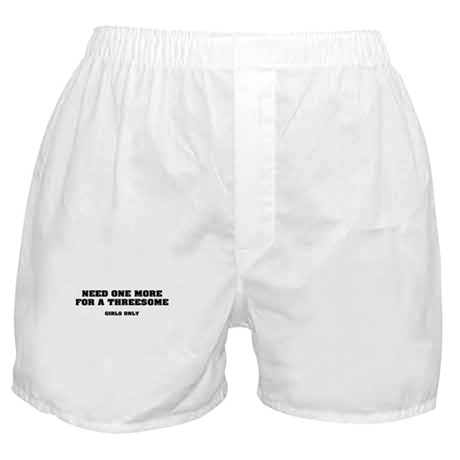 One more for Threesome! Boxer Shorts
