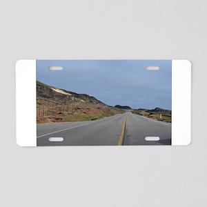 Highway 1 Big Sur Aluminum License Plate