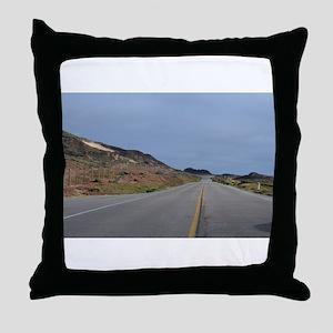 Highway 1 Big Sur Throw Pillow