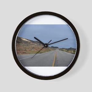 Highway 1 Big Sur Wall Clock
