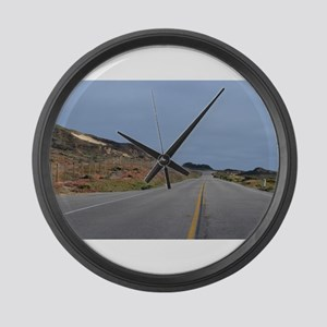 Highway 1 Big Sur Large Wall Clock