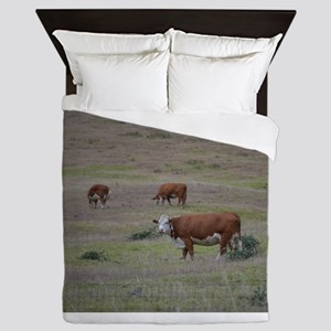 Cows Queen Duvet