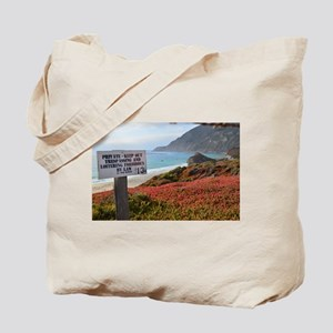 Private Coastline Tote Bag
