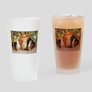 Aloha Guineas Drinking Glass