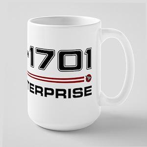 USS Enterprise Refit Dark Mug