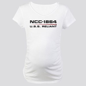 USS Reliant Dark Maternity T-Shirt