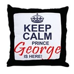 Prince George is Here Throw Pillow