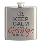 Prince George is Here Flask