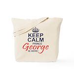 Prince George is Here Tote Bag