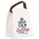 Prince George is Here Canvas Lunch Bag