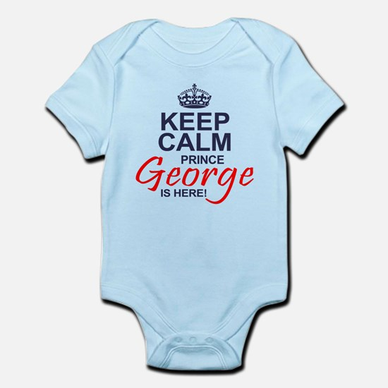 Prince George is Here Body Suit