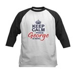 Prince George is Here Baseball Jersey