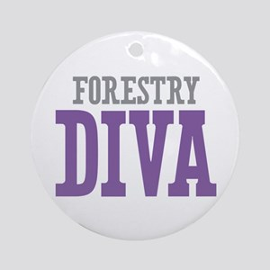 Forestry DIVA Ornament (Round)