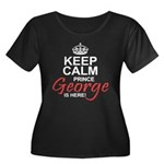 Prince George is Here Plus Size T-Shirt