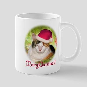 Christmas Calico Mug