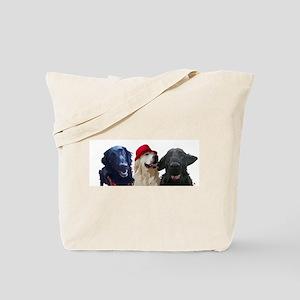 3 retrievers Tote Bag