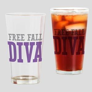 Free Fall DIVA Drinking Glass