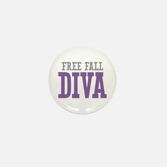 Free Fall DIVA Mini Button