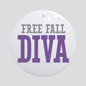 Free Fall DIVA Ornament (Round)