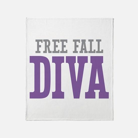 Free Fall DIVA Throw Blanket
