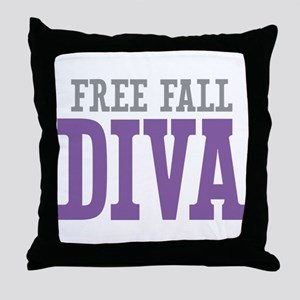 Free Fall DIVA Throw Pillow