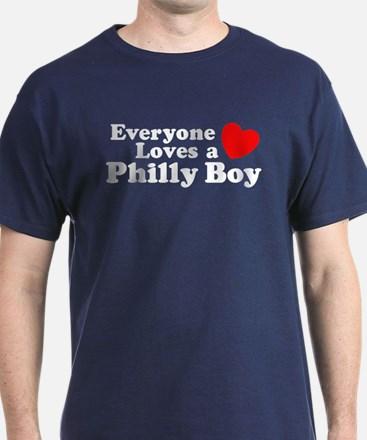 Everyone Loves a Philly Boy T-Shirt