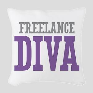 Freelance Woven Throw Pillow