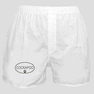 Oval Cockapoo Boxer Shorts