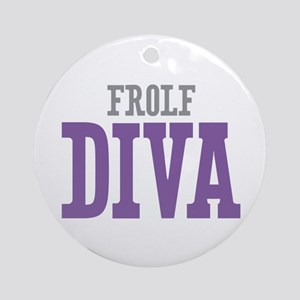 Frolf DIVA Ornament (Round)