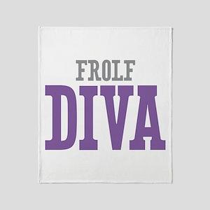 Frolf DIVA Throw Blanket