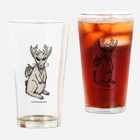 Spring-heeled Jackalope Drinking Glass