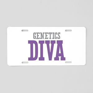 Genetics DIVA Aluminum License Plate