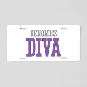 Genomics DIVA Aluminum License Plate