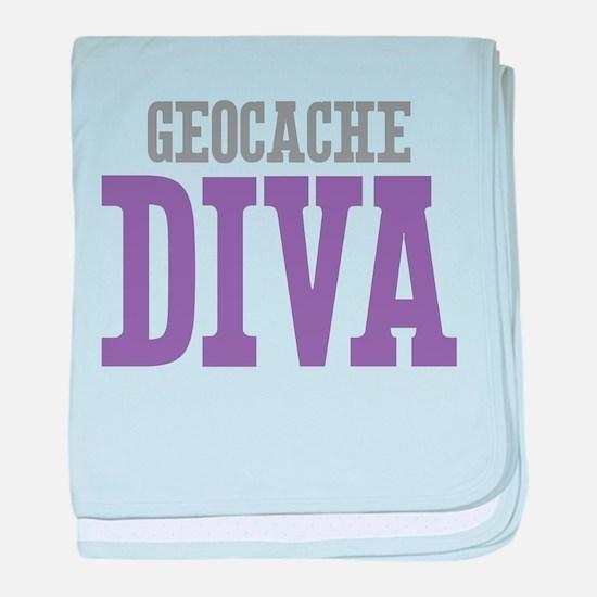 Geocache DIVA baby blanket