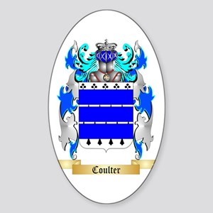 Coulter Sticker (Oval)