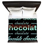 Celebrate Dark Chocolate King Duvet