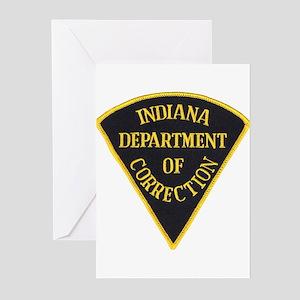 Indiana Correction Greeting Cards (Pk of 10)