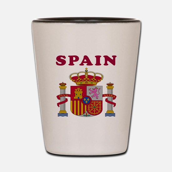 Spain Coat Of Arms Designs Shot Glass