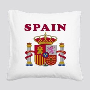 Spain Coat Of Arms Designs Square Canvas Pillow